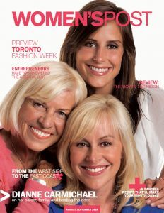 Women's Post Cover featuring Dianne Carmichael