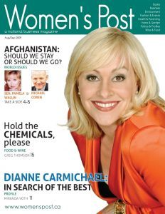 Dianne Carmichael Womens Post Cover 2009