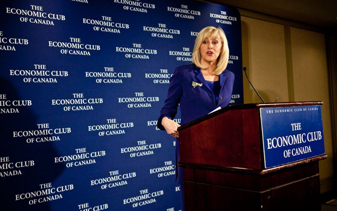 Photos from speech to the Economic Club of Canada