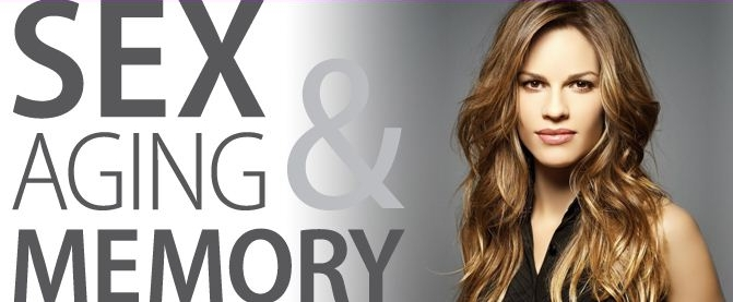 Hilary Swank at Sex Aging Memory Conference