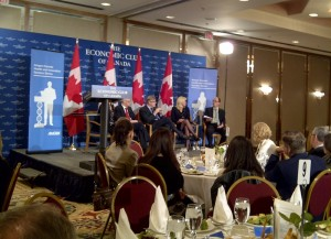 Healthcare Outlook 2012, Economic Club Panel