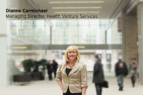 #MaRSMinds: Dianne Carmichael, Managing Director, Health Venture Services