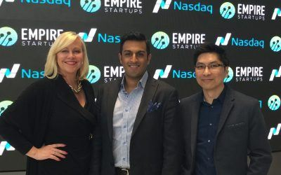Nasdaq Closing Bell Ceremony with Empire Startups