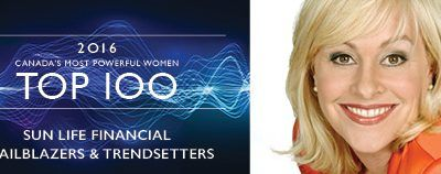 Dianne Carmichael named a WXN 2016 Canada's Most Powerful Woman